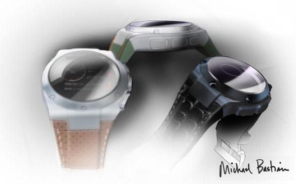 Smartwatch HPxMichael Bastian colours