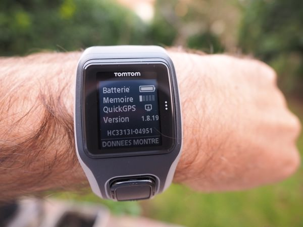 TomTom GPS Runner Quickfix