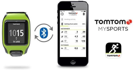 TomTom MySports App