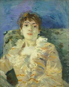 Berthe Morisot Girl on a Divan c.1885, Tate Collection © Tate Photography