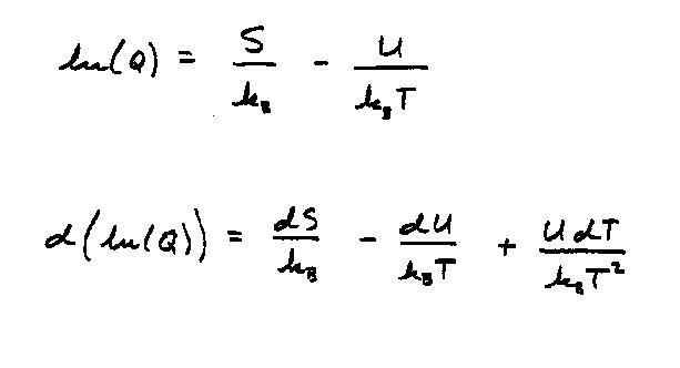 Canonical Ensemble Formulation In Statistical Mechanics