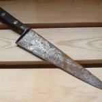 Το σκουριασμένο μαχαίρι δεν το πετάς