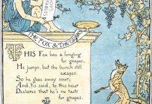 Αισώπου μύθοι - η αλεπού και τα σταφύλια