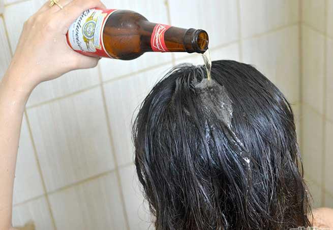 Αν δεν έχεις λακ, θα βάλεις μπίρα στα μαλλιά