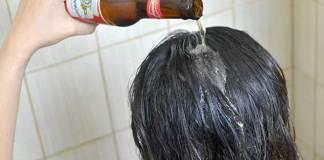 Μπίρα αντί για λακ στα μαλλιά