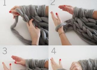 Ετσι θα πλέξεις χωρίς βελόνες