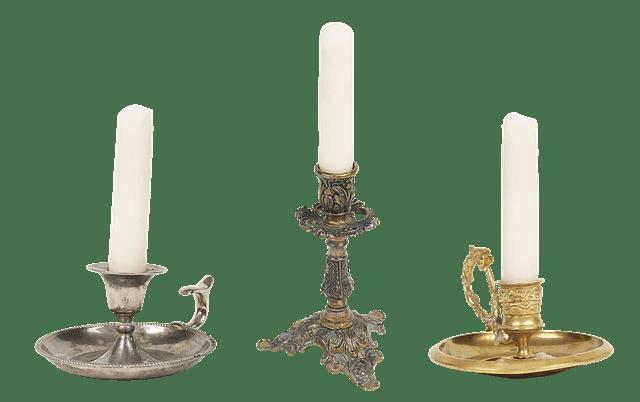 Μεγάλο το κηροπήγιο, μικρό το κερί