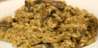 Καλογηρική Μαγειρική Πιλάφι με μανιτάρια