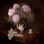 Φρέσκα λουλούδια στο βάζο