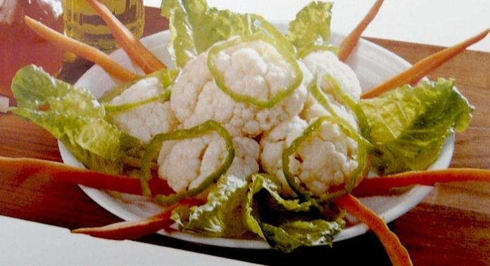 Κουνουπίδι βραστό – μια νόστιμη σαλάτα