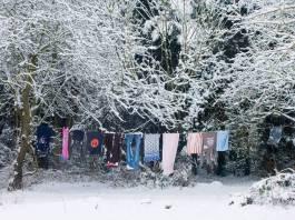 Αν απλώσετε ρούχα στην παγωνιά