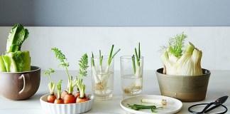 Φρούτα και λαχανικά στις ζαρντινιέρες