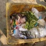 Ενα βρέφος στα σκουπίδια