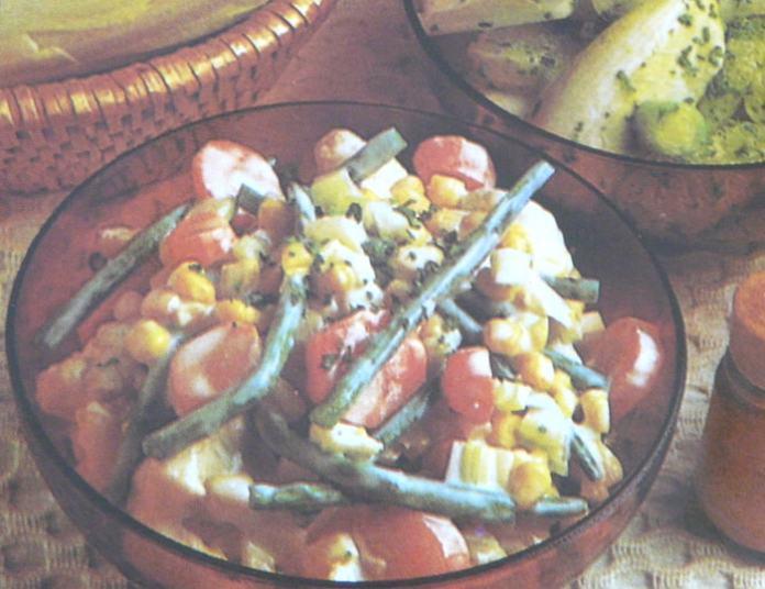 Σαλάτα με ανάμικτα λαχανικά – Συνταγή διαίτης