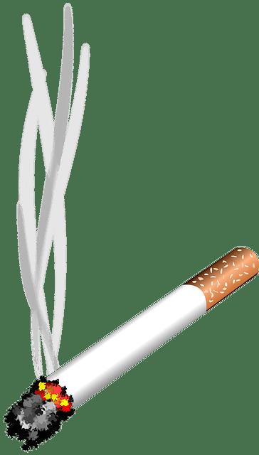 Καύτρα τσιγάρου σε μεταξωτό ή μάλλινο