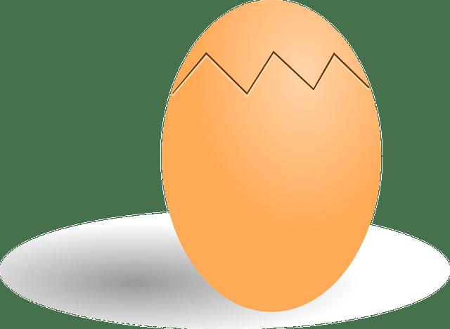 Βράσε το αβγό που ράγισε