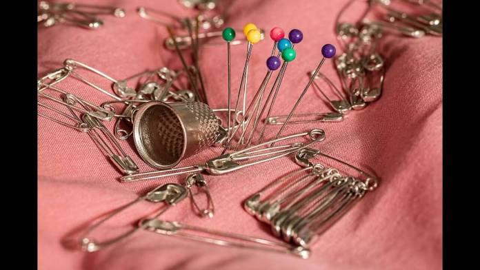 Προστάτεψε βελόνες, καρφίτσες και παραμάνες από τη σκουριά