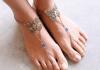 Περιποιημένα ξυπόλυτα πόδια