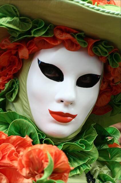 Ανοιξιάτικη μάσκα προσώπου