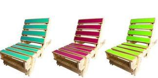 Με παλέτες έφτιαξαν καρέκλες