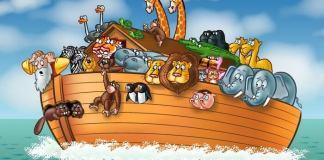 Ο Θεός και ο Νώε - ανέκδοτο