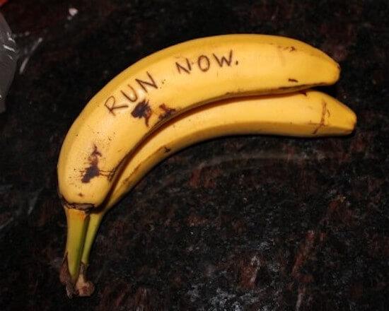 Πείτε το με μια μπανάνα