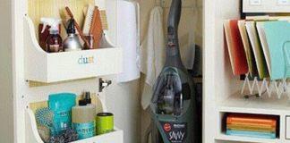 Ενα ντουλάπι οργανωμένο
