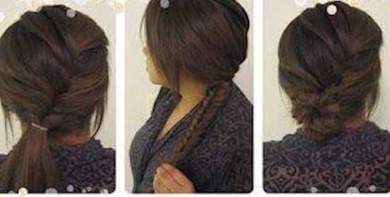Χτένισμα α λα Γαλλικά αν το μαλλί είναι μακρύ