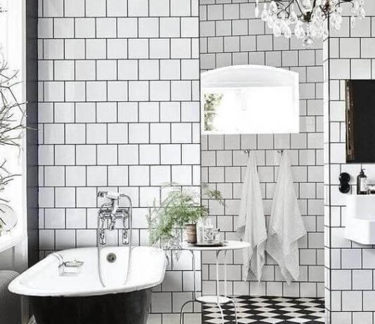 15 μπάνια που κυριαρχούν το άσπρο και το μαύρο
