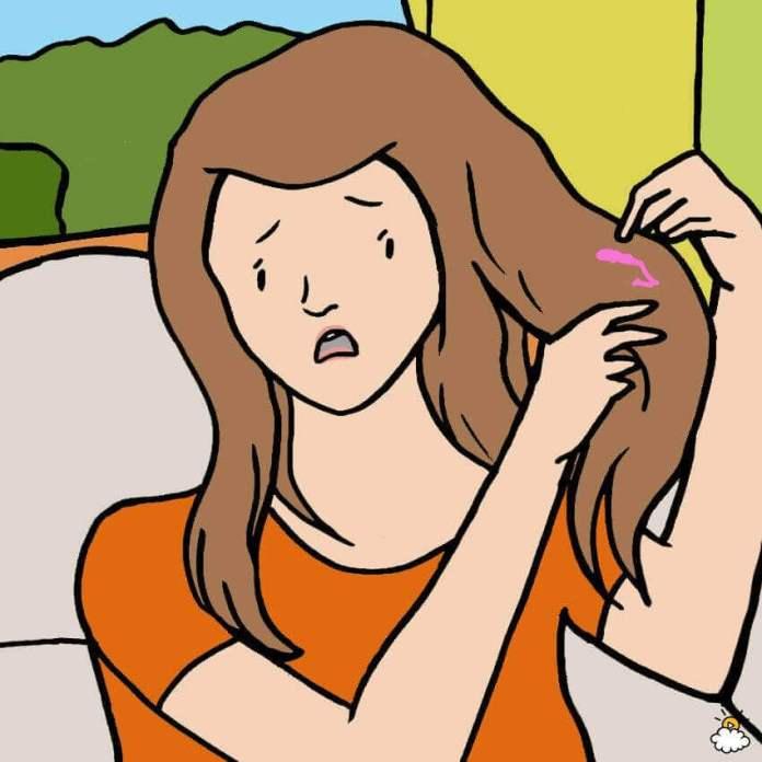 Για την τσίχλα στα μαλλιά