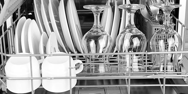 Πως τοποθετούμε τα πιάτα στο πλυντήριο πιάτων;