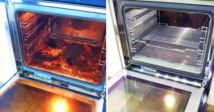 Κάνε τον φούρνο να λάμψει χωρίς τοξικά καθαριστικά