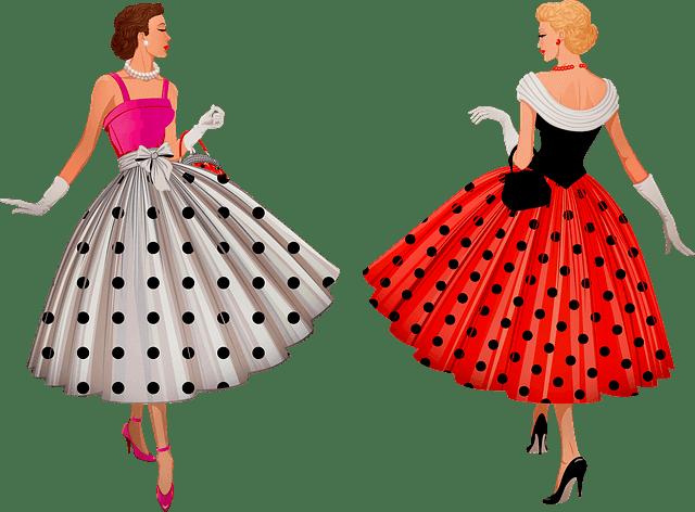 1950 η δεκαετία με τα υπέροχα φορέματα