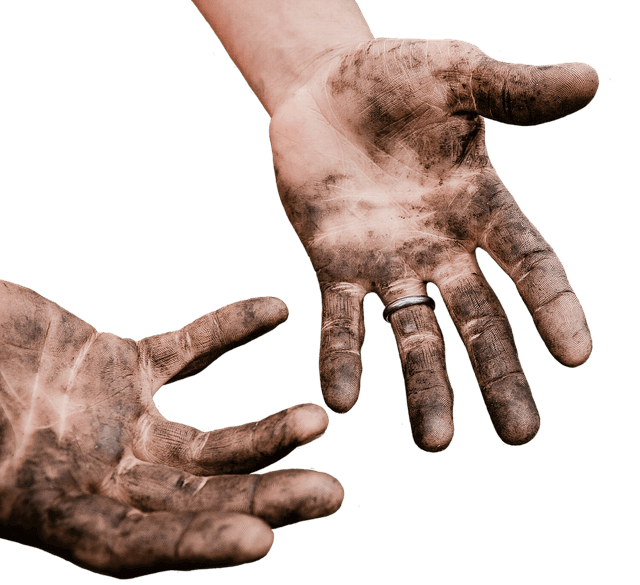 Πως θα καθαρίσετε τα χέρα από γράσα και μπογιές