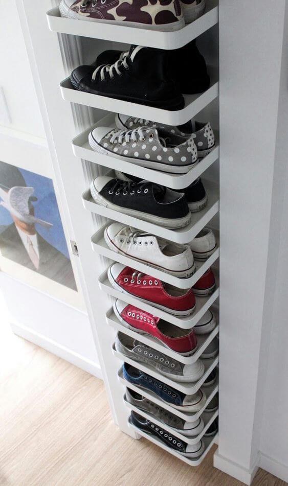 Οργανώστε τα παπούτσια έξυπνα!