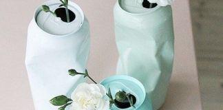 15 όμορφα βάζα που θα φτιάξετε μόνοι σας