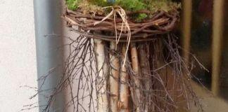 9 απίθανες κατασκευές με ξύλα, κλαριά και κορμούς δέντρων
