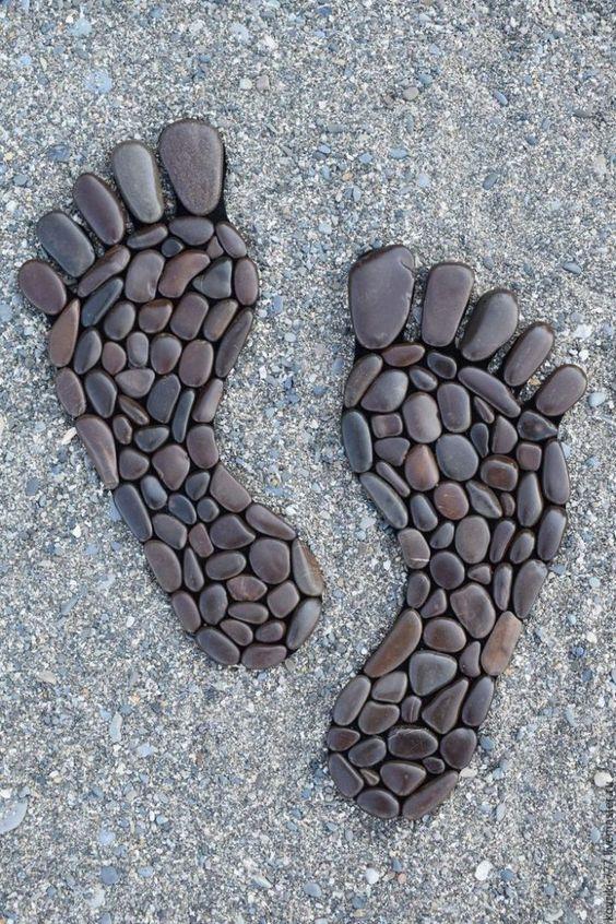 Ομορφες δημιουργίες με βότσαλα και πέτρες
