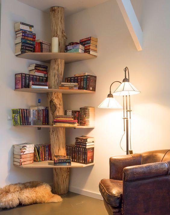 14 βιβλιοθήκες και ράφια για βιβλία, όλα οικολογικά