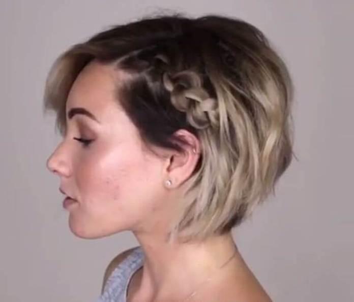 Κόλπα για κοντά φιλαριστά μαλλιά
