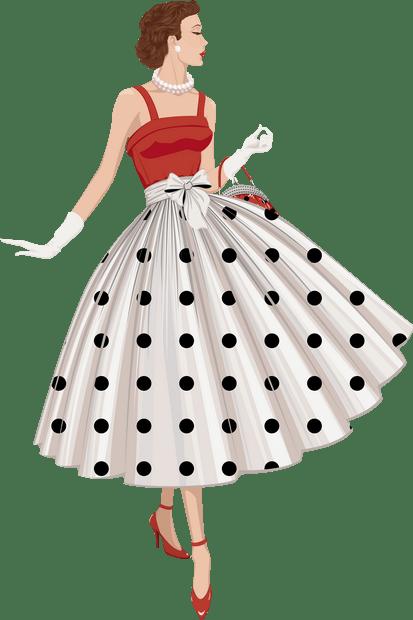 Ρετρό φορέματα