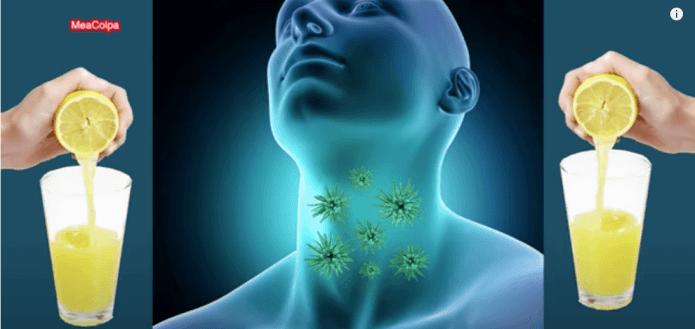 Γιάτρεψε τον πονόλαιμο χωρίς φάρμακα
