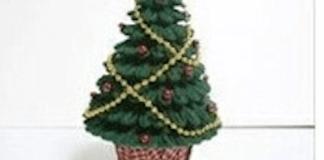 Φτιάξε διακοσμητικό δεντράκι Χριστουγέννων