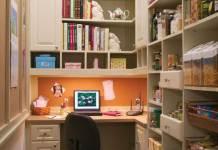 Ενας στενός χώρος που έγινε γραφείο