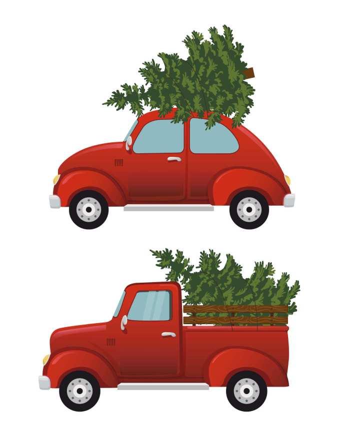 Φτιάξτε ένα διαφορετικό Χριστουγεννιάτικο δεντράκι για να στείλετε ευχές
