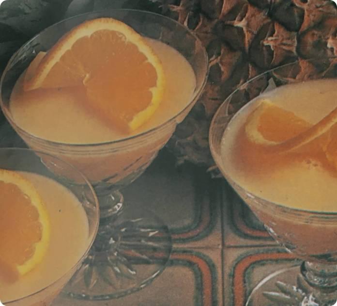 Ζελέ πορτοκάλι και ανανά