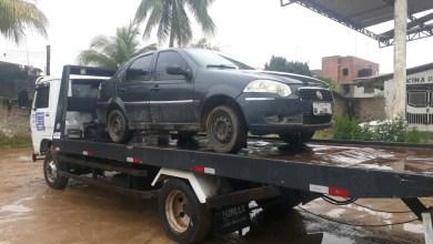 Santo Antônio de Jesus carro roubado