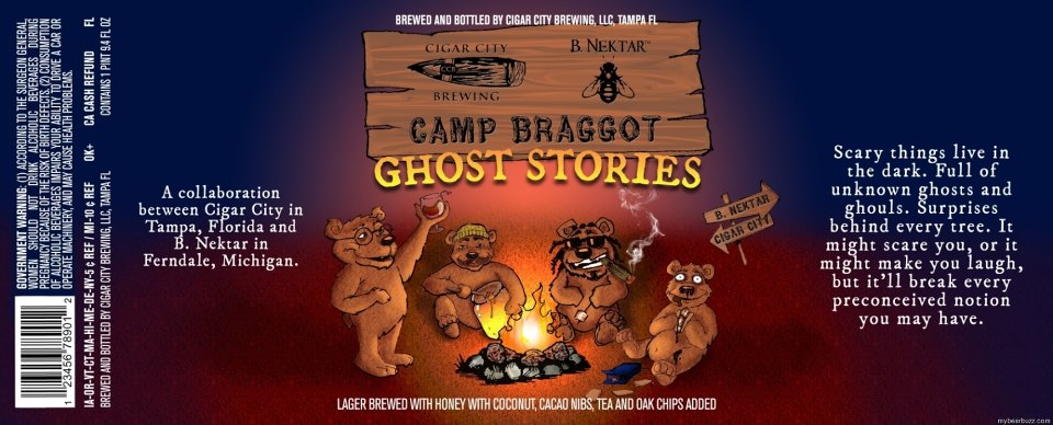 Camp Braggot label