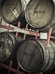 Moonlight Meadery Barrel Room