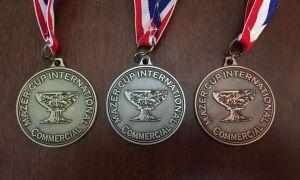 2015 mazer cup medals